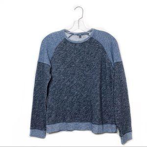 Vince Color Block Sweatshirt Blue  Size S